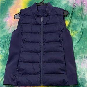 Lululemon Down & Around Vest in Midnight Navy